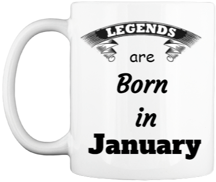 Born in January